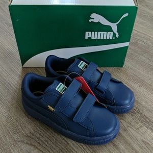 New! Puma 'Basket Classic' Leather Sneakers